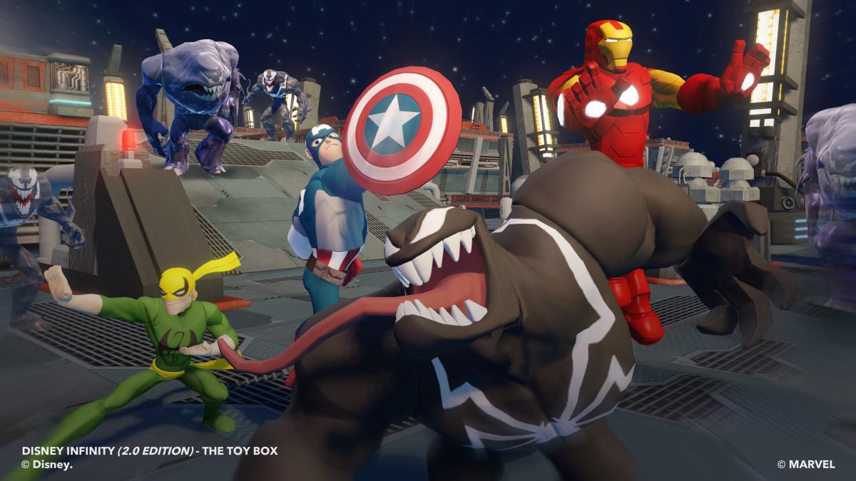 Venom Disney Infinity 2 0 Figure Review Smashing